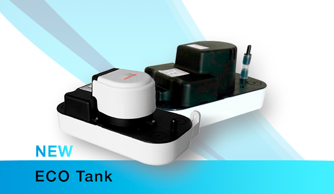 Оновлена модель насоса ECO Tank